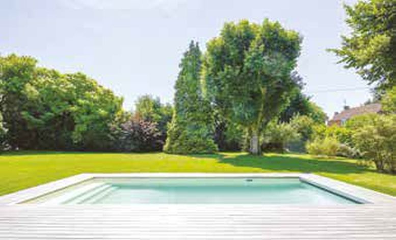 Zabudowa basenu ogrodowego