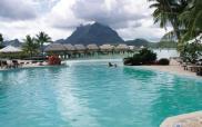 Piscine collective à Tahiti