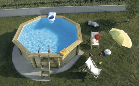 Les piscines hors-sol Desjoyaux